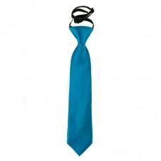 Gumis gyermek nyakkendő - kobalt