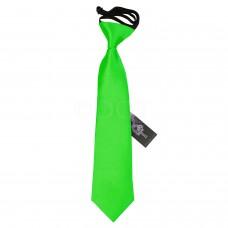 Gumis gyermek nyakkendő - almazöld
