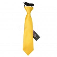Gumis gyermek nyakkendő - napsárga
