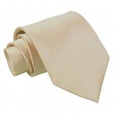 Egyszínű halvány mokka barna nyakkendő