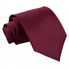 Egyszínű sötétbordó nyakkendő