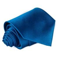 Egyszínű kék nyakkendő