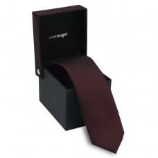 Keskeny nyakkendő dobozban - sötét bordó