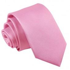 Rózsaszín, anyagában mintás nyakkendő