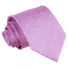 Aprópöttyös nyakkendő - lila