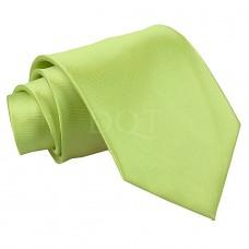 Egyszínű nyakkendő - lime zöld