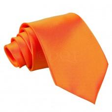 Egyszínű nyakkendő - narancssárga