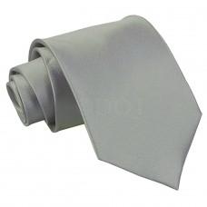 Egyszínű nyakkendő - platina