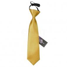 Gumis gyermek nyakkendő - arany