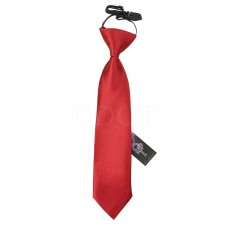 Gumis gyermek nyakkendő - burgundi