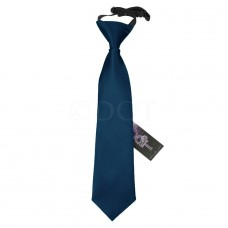 Gumis gyermek nyakkendő - sötét kék