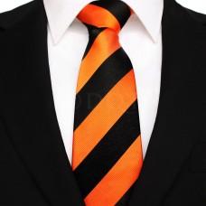 Széles csíkos - narancssárga/fekete