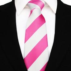 Széles csíkos - pink/fehér