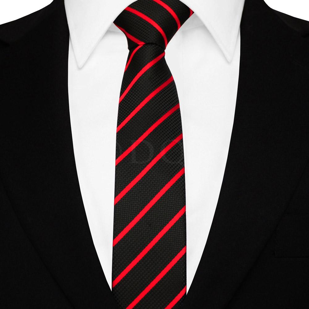 f3042d3055 Szürke nyakkendő - fekete-ezüst csíkos