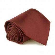 Egyszínű nyakkendő - burgundi