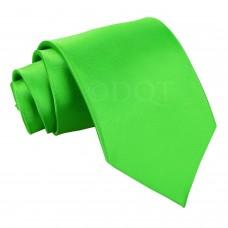 Egyszínű nyakkendő - alma zöld