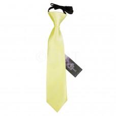 Gumis gyermek nyakkendő - halvány sárga