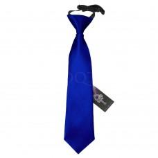 Gumis gyermek nyakkendő - királykék