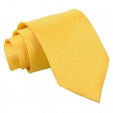 Egyszínű nyakkendő - napsárga