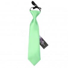 Gumis gyermek nyakkendő - mentazöld