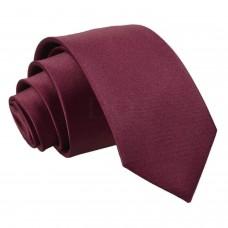 Gyermek nyakkendő - sötét bordó
