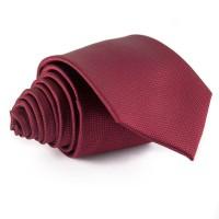 Bordó, anyagában mintás nyakkendő