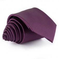 Sötétlila, anyagában mintás nyakkendő