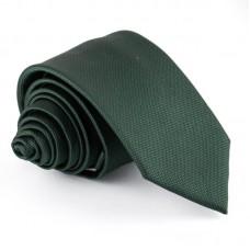 Sötétzöld, anyagában mintás nyakkendő