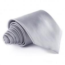 Egyszínű nyakkendő - szürke