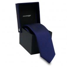 Keskeny nyakkendő dobozban - sötétkék