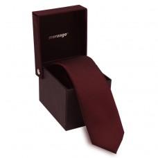 Keskeny nyakkendő dobozban - bordó