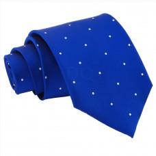 Aprópöttyös nyakkendő - királykék