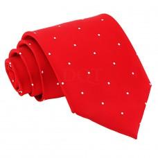 Aprópöttyös nyakkendő - piros