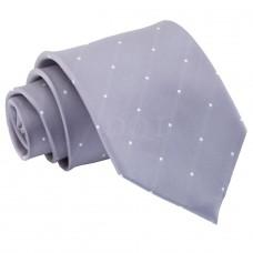 Aprópöttyös nyakkendő - szürke