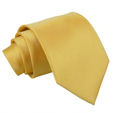 Egyszínű nyakkendő - arany