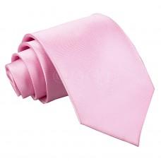 Egyszínű nyakkendő - babarózsaszín