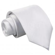 Egyszínű nyakkendő - fehér