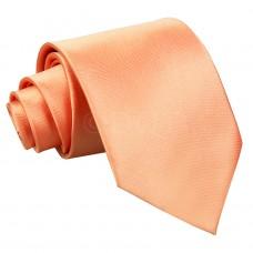 Egyszínű nyakkendő - korall