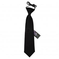 Gumis gyermek nyakkendő - fekete